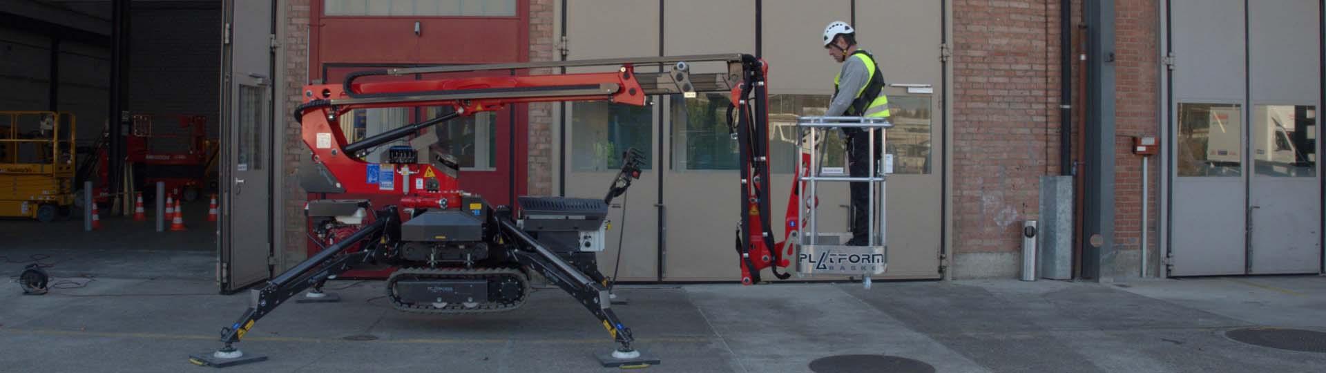 Ausbildung Hubarbeitsbühne Arbeitsbühne IPAF Kategorie 1a 1b 3a 3b