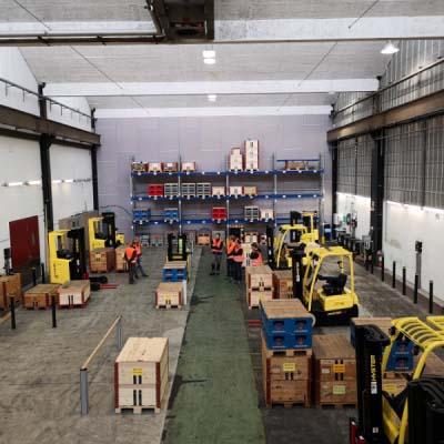 Kompetenzzentrum für Arbeitssicherheit: Stapler Gegengewichtsstapler Kurs Instruktion Ausbildung Weiterbildung